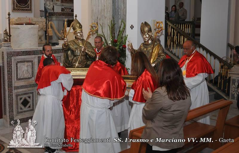 Inizio novena ai Santi Patroni - Cripta SS. Erasmo e Marciano VV. MM. - 23/05/2016