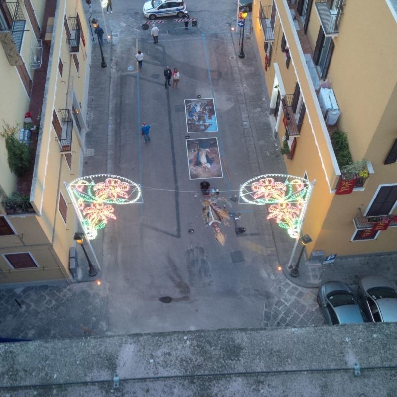 I Madonnari in Piazza Papa Gelasio II