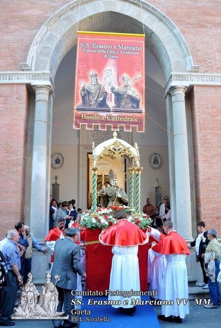 Uscita solenne dei Santi Patroni di Gaeta