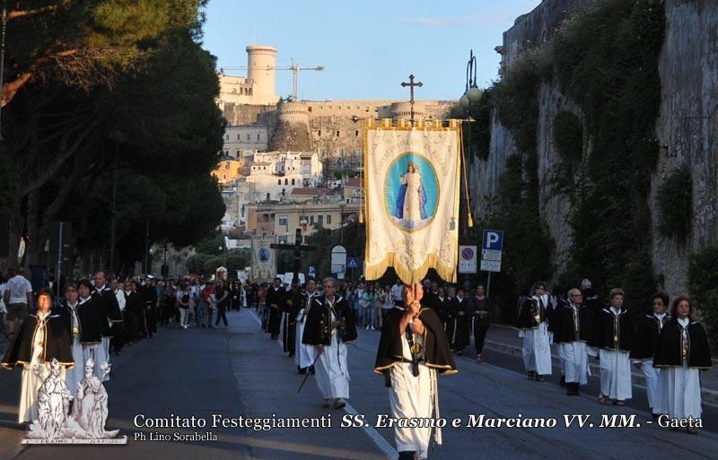 Processione dei Santi Patroni per le vie di Gaeta