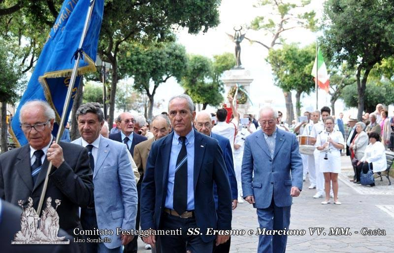 L'A.N.M.I. (Associazione Nazionale Marinai d'Italia) e l'Associazione Medaglie d'oro della Marina Mercantile