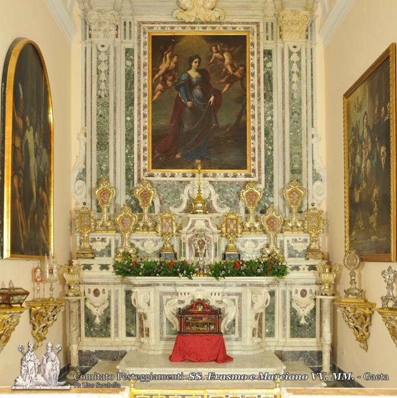 La cappella delle reliquie
