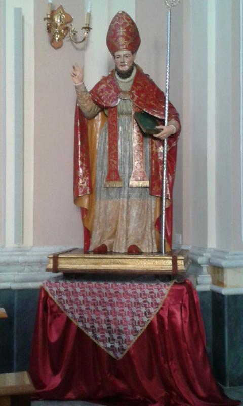 La statua di Sant'Erasmo