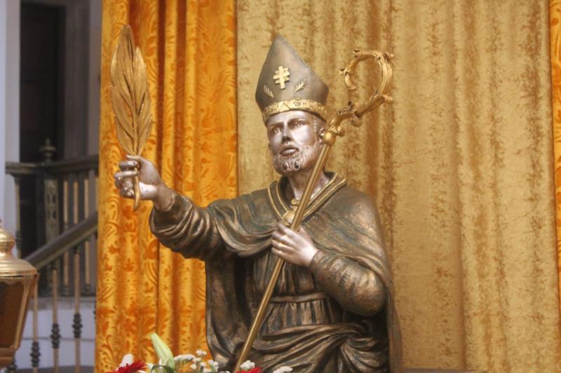 Il busto di Sant'Erasmo